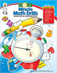 amazon com more minute math drills addition and subtraction