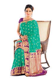 pista green color buy rama green pure crepe silk saree mysore with beautiful