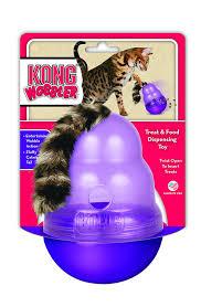 kong wobbler treat dispensing cat toy amazon co uk pet supplies