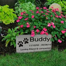 dog grave markers grave marker custom engraved medium