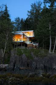 weekend family retreat modern cabin on gambier island bc