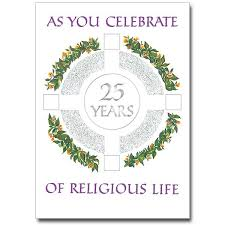 jubilee cards buy religious profession anniversary card
