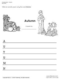 acrostic poem autumn