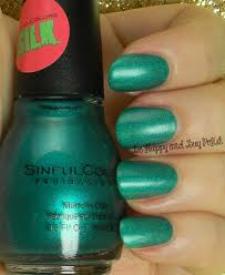 sinful colors silk and textured nail polish swatches review be