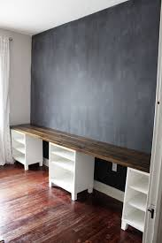 Build Simple Wood Desk by Option For Kids Area With Trofasts Underneath Instead Diy 12