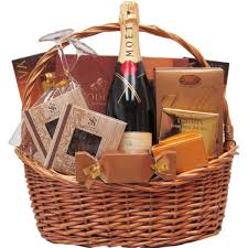 Champagne Gift Basket Champagne And Chocolate Gift Baskets The Sweet Basket