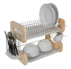 Kitchen Nice Dish Drying Rack For Dinnerware Organizer Idea - Kitchen sink plate drainer
