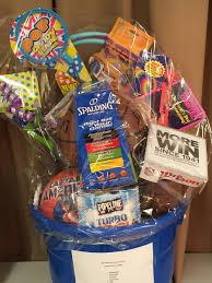 sports gift baskets school fundraiser gift basket ideas home plate easy seasonal