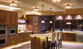 Pendant Lighting Fixtures For Kitchen Bronze Pendant Lights Over Island Chandelier In The Kitchen