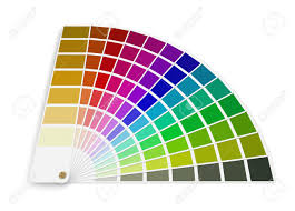 pantone color palettes pantone color palette guide clipping path included stock photo