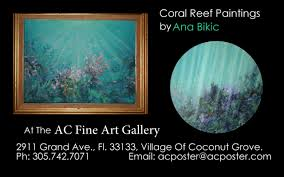 coral reef paintings by miami artist ana bikic coral reef paintings