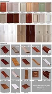 Kitchen Cabinet Plywood Plywood Melamine Board Mdf Door Material And Flat Edge Eased