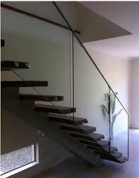 steel 316l frameless glass balcony railing minimal profile capping