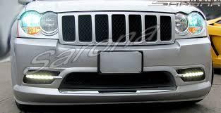 2005 jeep grand fog lights jeep grand front bumper suv sav crossover 2005 2007