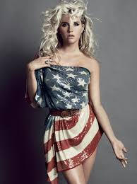 Model American Flag Stars U0026 Stripes Beyonce Britney Spears U0026 More Deliver Patriotic