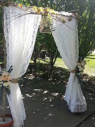 wedding arch lace best 25 diy wedding arch ideas ideas on rustic