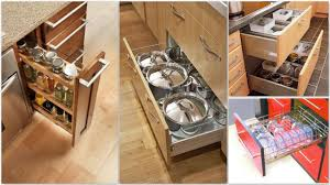 cabinets u0026 drawer natural finishes pull out drawers small kitchen