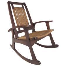 chair rocker mid century modern couch shermag glider dutailier