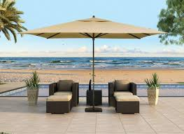 Patterned Patio Umbrellas Enjoying The Sunny Days With Outdoor Patio Umbrella Babytimeexpo