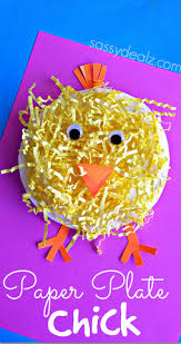 Paper Plate Easter Decorations by Easy U0026 Fun Easter Crafts For Kids Easter Crafts Grasses And Easter