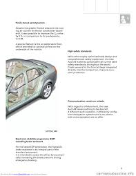 audi a4 2001 b5 1 g technical features design and function