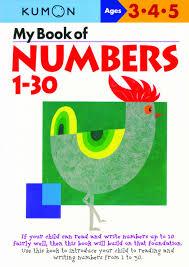 my book of numbers 1 30 amazon ca kumon books