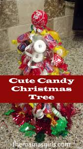 cute candy christmas tree christmas trees crafts and trees