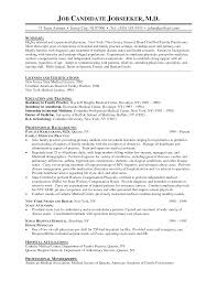 cover letter sample resume for physician sample resume for