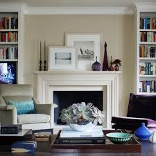 Fireplaces With Bookshelves by Built In Bookcase Fireplace Mantle Houzz
