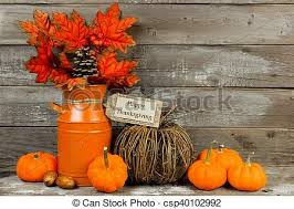 stock photographs of happy thanksgiving tag and decor with rustic