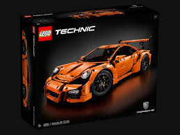 porsche lego porsche 911 type 991 gt3 rs orange 1 8 lego technic 42056