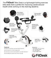 fit desk exercise bike fitdesk bike desk 3 0