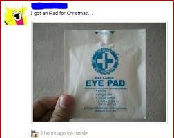 Eye Pad Meme - eye pad for christmas random lifestyle