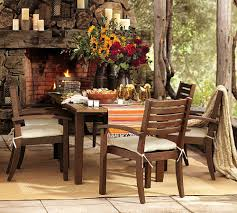 Living Spaces Dining Sets by Pottery Barn Outdoor Furniture Equipping Breezy Patio Designoursign