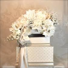 wedding money box wedding card holder wedding money box lilly of the valley wedding
