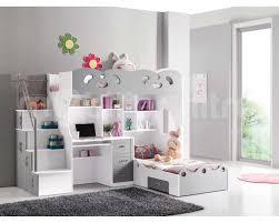 lit mezzanine avec bureau int r lit mezzanine enfant fille