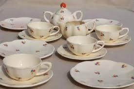 vintage tea set vintage tea pots tea cups and saucers