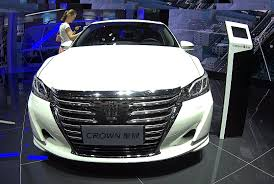 toyota official website india officially new toyota crown 2016 2017 model biggest luxury