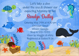 the sea baby shower invitations the sea baby shower invitation templates baby showers ideas