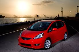 small car honda fit photos all new 2009 honda fit big on style and refinement small on price