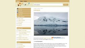 simple brown blogger template btemplates