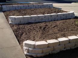 tips to build terraced retaining wall wall carrara white 12x12