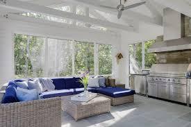 Sunroom Sofas Sunroom Kitchen Design Transitional Deck Patio