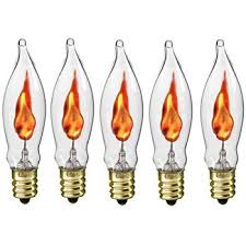 Lights Flickering In Whole House Amazon Com Flicker Flame Light Bulb Imitates The Look Of A