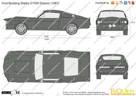 1967 Mustang Gt500 Price The Blueprints Com Vector Drawing Ford Mustang Shelby Gt500