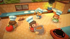 jeux la cuisine overcooked le jeu multi de cuisine décalé arrive début août
