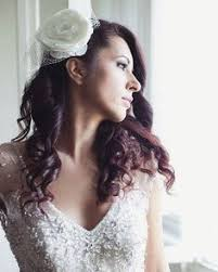 floral bridal ivory comb wedding flower comb whimsical bridal