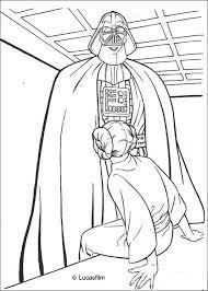 darth vader princess leia coloring pages hellokids
