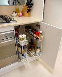 Kitchen Cabinet Spice Organizers by Kitchen Exciting Small Kitchen Storage Ideas With Corner Storage
