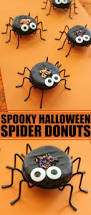 spooky halloween spider donuts frugal mom eh